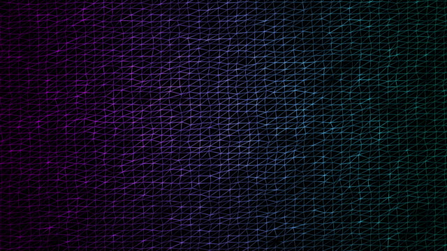 Futuristic Geometric Line Abstract Background - Creative Design Element. video