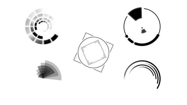 Futuristic HUD Motion Graphics video