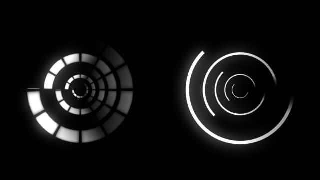 futuristiska hud rörlig grafik - designelement bildbanksvideor och videomaterial från bakom kulisserna