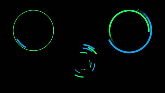 futuristic hud motion graphics - инфографика стоковые видео и кадры b-roll