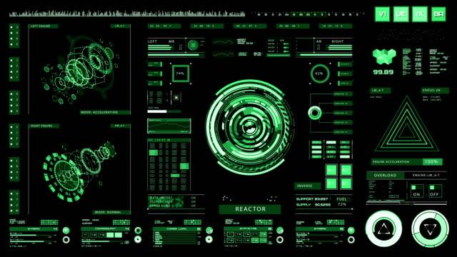 Futuristic interface   HUD   Digital screen