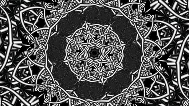 futuristiska mandala loop bakgrund - mandala bildbanksvideor och videomaterial från bakom kulisserna
