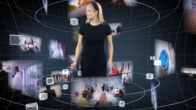 Futuristic Media World video