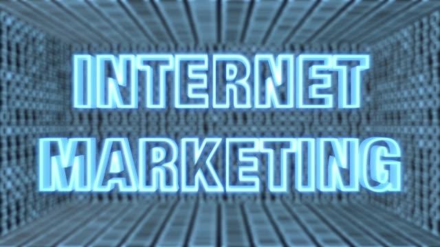 Futuristische Motherboard Internet Marketing Concept Loop 4K – Video
