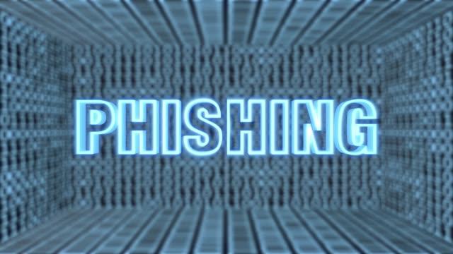 Futuristische Motherboard Phishing Concept Loop 4K – Video