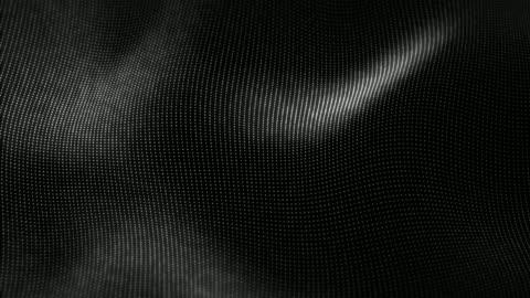 vidéos et rushes de particules vague futuriste, abstrait, élément de design créatif. - en rang