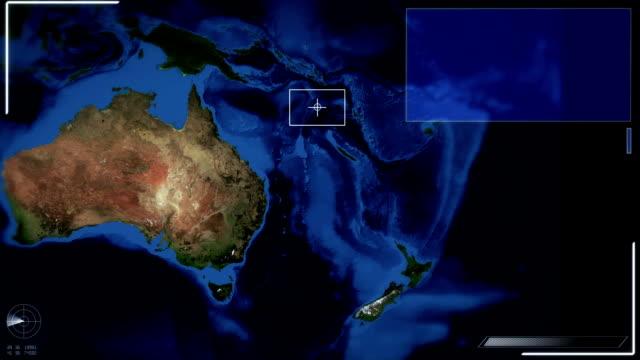 Futuristic Satellite Image View Of Canberra video