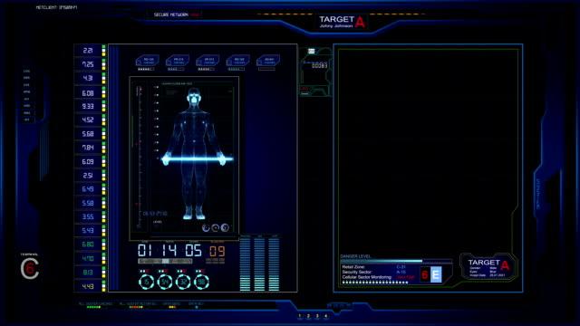 UI Futuristic Screen Graphics video
