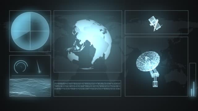 Futuristic Screen video