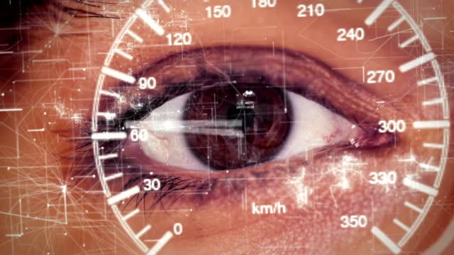 futuristic smart glasses run video