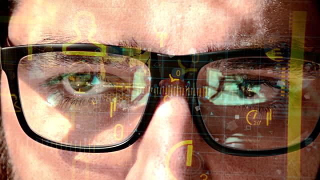 Futuristic smart glasses video
