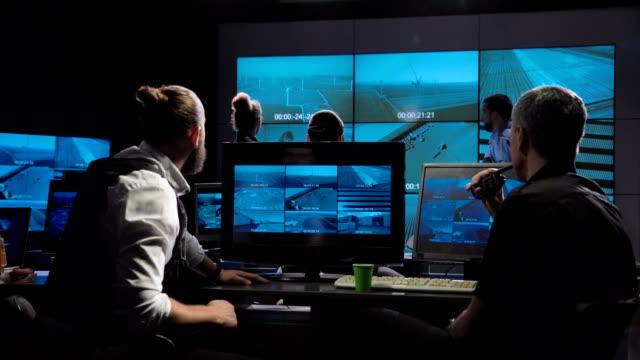 未来的な特殊部隊事務所監視チーム ビデオ