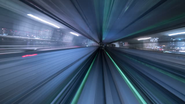 Futuristic Timelapse Tunnel
