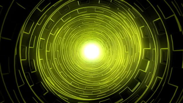 Futuristic (Sci-Fi) tunnel vision video