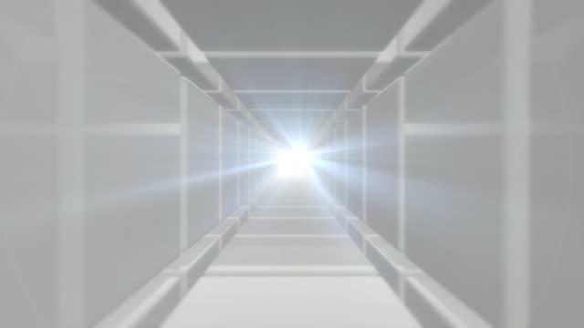 Futuristische Tunnelschleife – Hell – Video
