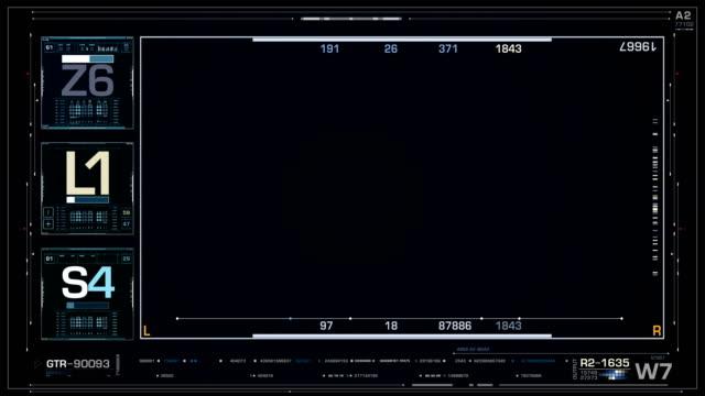 Futuristic user interface frame Futuristic user interface frame. Sci Fi Video Holder. Video Frame Sci Fi Concept design progress bar stock videos & royalty-free footage