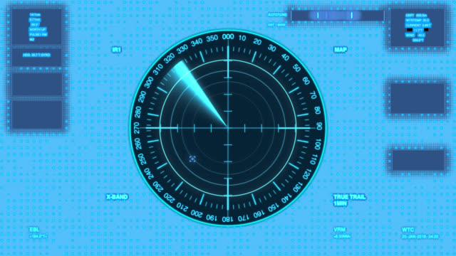 futuristic user interface isolated on transparent background.radar with target on map. hud - target australia stock videos & royalty-free footage