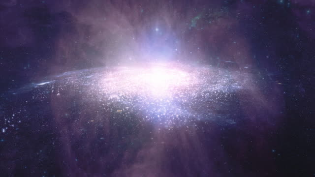 Galaxy A. Animated sci-fi or scientific background video. HD. video