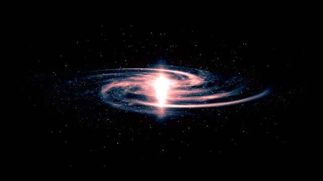 3d galaxy animation - big bang video stock e b–roll