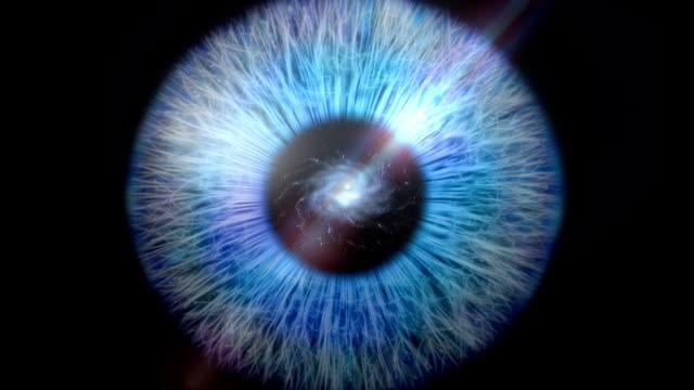 Galáxia Olho Zoom - vídeo