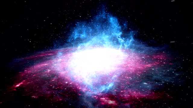 Galaxy fly through video