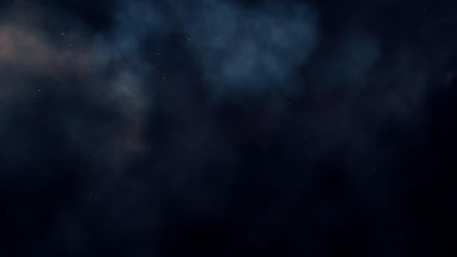 vídeos de stock, filmes e b-roll de galaxy ou fundo espacial, animação digital - padrão repetido