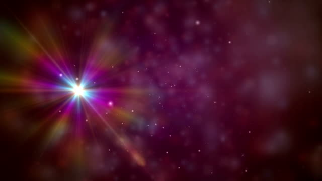 galaxy stars in space video