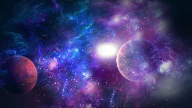 galaxy - 20 sekunder eller längre bildbanksvideor och videomaterial från bakom kulisserna