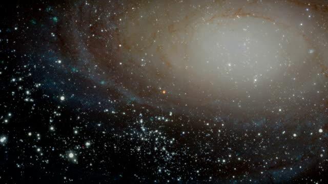 galaxy (zoom in - układ słoneczny filmów i materiałów b-roll