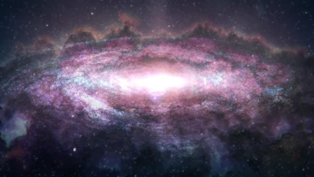 galaxy - sternennebel stock-videos und b-roll-filmmaterial