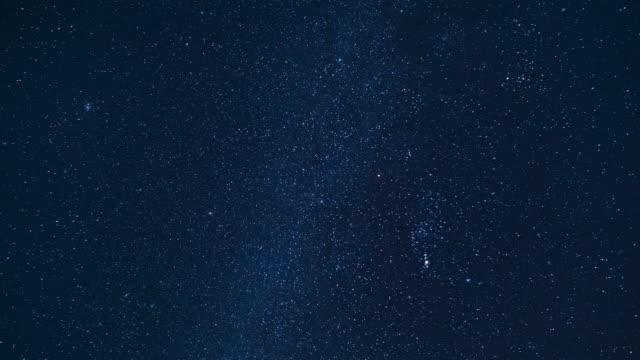 銀河星の時間の経過を - 星型点の映像素材/bロール