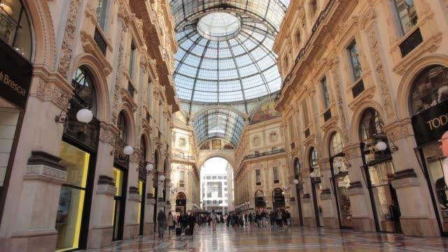 Galleria Vittorio Emanuele II, Milano video