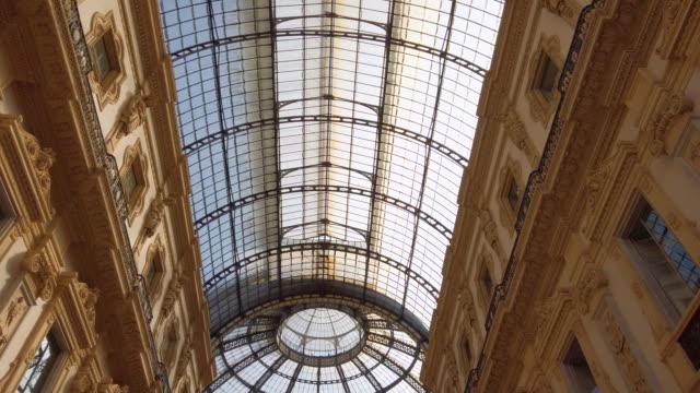 ヴィットリオ・エマヌエーレ2世 - 対称点の映像素材/bロール