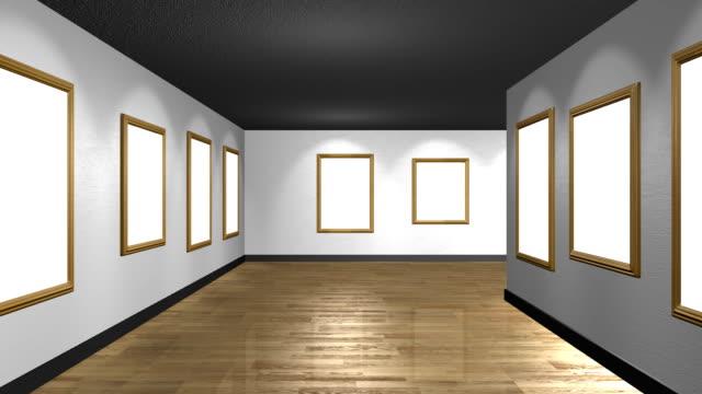 ギャラリー - 美術館点の映像素材/bロール