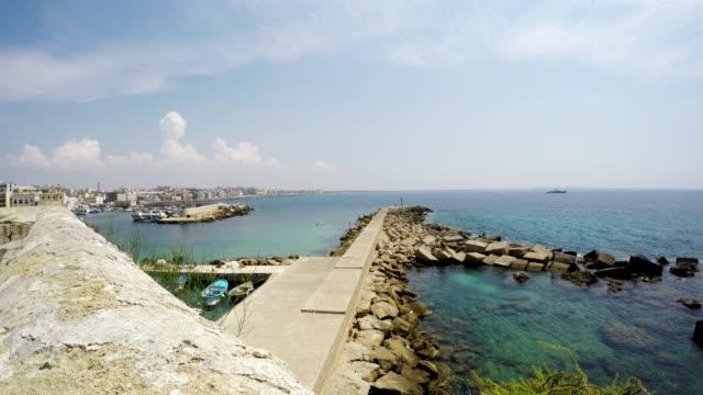 Gallipoli, Apulia, Salento, Time Lapse Fast