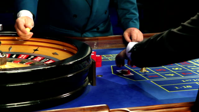 HD CLOSE UP: Gambling in Casino video