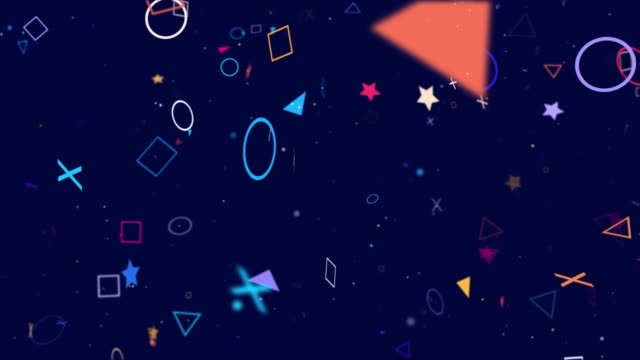 4K Game abstract background (loopable)