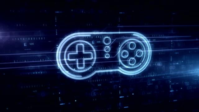 Game pad symbol hologram