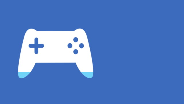 Gamepad shape filling up in colour