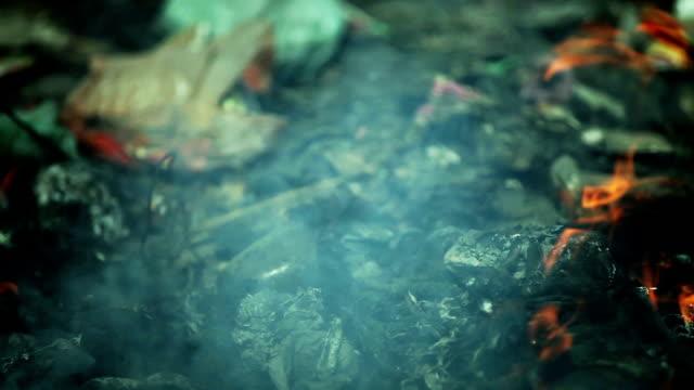 ごみ燃焼汚染 - 全壊点の映像素材/bロール