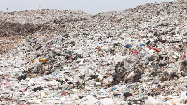 Garbage dump site video
