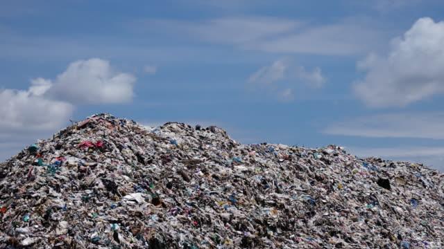 Garbage Dump - Time Lapse 4k video