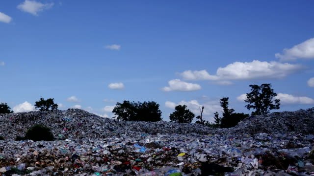 Garbage Dump - Time Lapse Zoom Out video