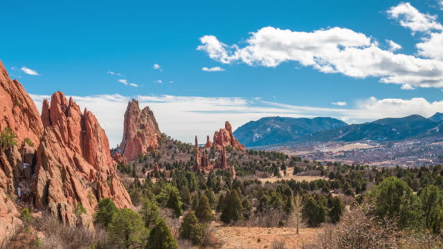 Garden of the Gods, Colorado Springs, Colorado, USA – Video