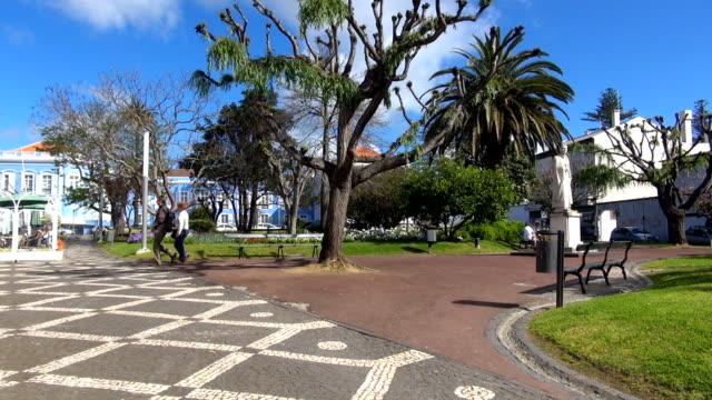 Garden - Ponta Delgada, Azores video
