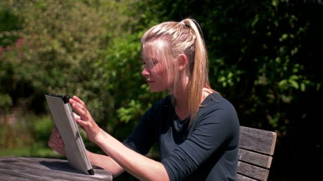 Garden tablet PC video