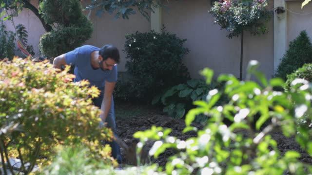 bahçe - bahçe ekipmanları stok videoları ve detay görüntü çekimi