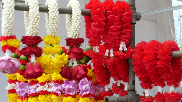 Garlands for paying respect to Ganesha video