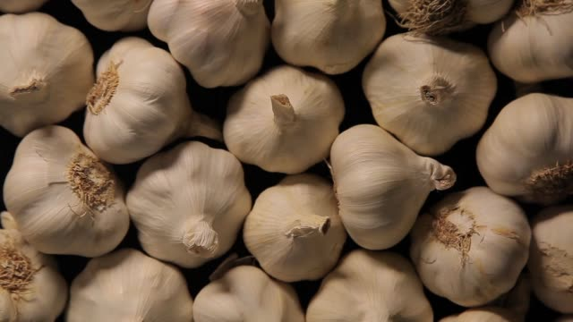 garlic pattern with moving lights and shadows garlic pattern with moving lights and shadows side lit stock videos & royalty-free footage
