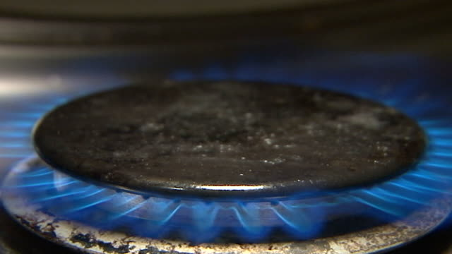 Gas on the stove video